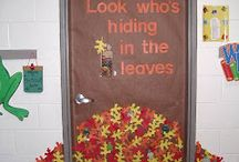 Bulletin Board Ideas / Door and bulletin board displays for all seasons & holiday!
