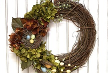 WREATH & SWAG IDEAS / by Lucy @ Patina Paradise