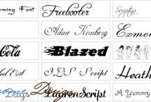 шрифты для дизайна