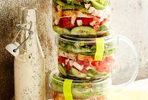 Salată+ sosuri
