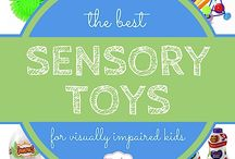 Toys for visually impaired kids / A collection of best resources for babies and children who are visually impaired.