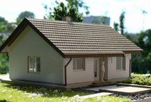 SD4 makieta / Aby lepiej wyobrazić sobie wygląd domu wg naszego topowego projektu #SD4 przygotowaliśmy jego makietę. Wszystkie informacje na temat domu i jego budowy na naszej stronie: http://stalowedomy.pl/sd4/
