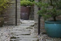 Pavimento in legno all'aperto