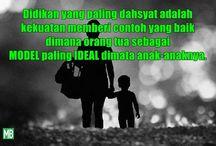 Setiap anak dilahirkan amoral, antisosial dan seutuhnya dikendalikan oleh hawa nafsunya