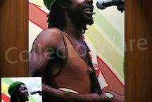 REGGAE ARTISTS FINE ART - OILS & ACRYLICS ON CANVAS PAINTINGS / by CollectorWare
