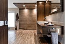 Armoires cr abec inc lucbelisle2103 on pinterest - Vanite salle de bain contemporaine ...