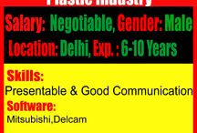 Current job openings / Candidate shoul be presentable and should have good communication skills.