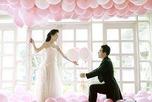Pink Wedding Ideas / by Bella Paris Designs