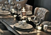 Country home / Rustic & glamour