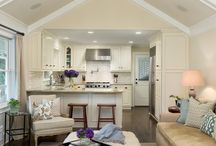 Open plan kitchen living