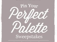 My Perfect Palette #1 / Create your own perfect palette and enter the Sherwin-Williams Pin Your Perfect Palette Sweeepstakes https://www.facebook.com/SherwinWilliamsforDesignersArchitects/app_545232272186621