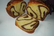 Patiserie,paine si briose / cozonac cu aluat oparit