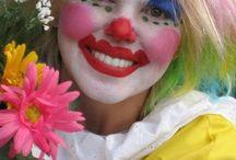 Clowns / Vrolijke clowns gezichten
