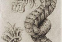 Figuras Aztecas y/o Mayas