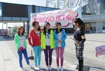 YOKOSO JKT48 / Acara televisi mengenai perjalanan wisata para member JKT48 di Jepang, dimana para member memperkenalkan objek wisata terkenal serta budaya tradisional dan modern dari beberapa daerah di Jepang / JKT48のメンバー達が、日本の色々な観光地や様々な地域から、日本の伝統的な文化とポップカルチャーを紹介する旅行番組です。 http://yokosojkt48.com/ https://www.facebook.com/yokosojkt48 https://twitter.com/YokosoJKT48