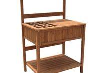 Potting Table / Patio Bar / Patio Buffet