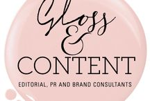 Gloss & Content / Our brand comes to life...