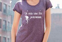 T-shirts femme, idées de cadeaux, tee shirts humour / Sans doute les t-shirts femme les plus originaux du french-web.