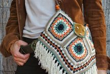 Crochet/ Knitting- bags, purses etc