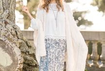 Summer Love / Summer is here!  Gear up for the most anticipated season of the year.  Find inspiration with these summer worthy Bohemian looks.