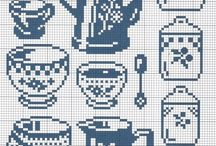 Cross Stitch-Bucatarie