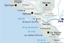 100% vélo / Les circuits vélo et les grandes véloroutes: Vélodyssée et Vélo Francette. Aux alentours de Surgères, Marans, La Rochelle et le Marais Poitevin.