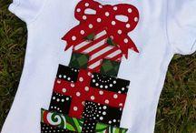 Christmas diy tee