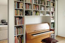 lights shelves