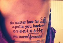 Tattoos and Piercings / by Aimee Barragan
