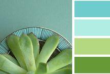 Kleur, color, coleur / Kleurencombinaties