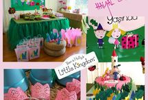 BEN AND HOLLY BIRTHDAY IDEAS
