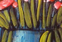 SUZAN BUCKNER FLOWER ART