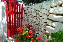 Garden Gates / outdoors, gardens, architecture, gates, yard, garden / by Holly Louen