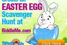 Easter Scavenger Hunts
