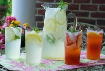 Beverages ~ Lemonades - Iced Teas - Fresh Fruit Drinks