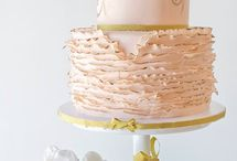 Wedding cakes that are almost too pretty to eat. / 0