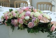Flowers for Sweetheart & Head Table / by Dandie Andie Floral Designs