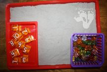Preschool Math Activities / A collection of activities to teach Math and encourage learning with preschoolers at home and away from home.  / by Crystal (www.crystalandcomp.com)
