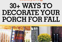 Fall decorating ideas!