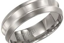 Mens Wedding Bands @BrianMichaelsJewelers!! / All about the guys! Wedding bands for him!