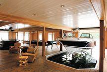 Båthus og garasje