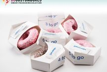 Donut Boxes / The customized #Donut #Packing #Boxes depend on the size of the donut also.   Promotional Prices : http://bit.ly/29bsy6m