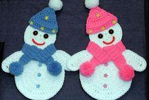 Crochet Snowman / by Robin Hill