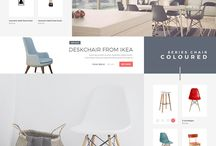 Furniture webshop templates