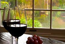 Vino / Un tablero dedicado íntegramente al vino como imagen artística