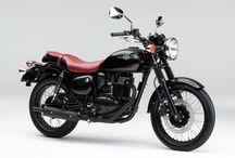 modern classic motorbike