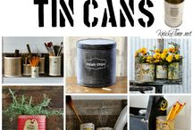 Crafts -cans / by Sharon Watson