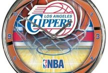 LA Clippers Merchandise, Bedding, Decor & Gifts / LA Clippers Merchandise is an amazing way to decorate your home & office to create your own Clippers fan zone in your bedroom, kid's bedroom, game room, study, kitchen, living room, and even the bathroom. Also great as LA Clippers fan gifts. Show off your Clippers team pride today!
