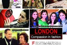 Fashion ComPassion Press / Press, press, press! Let's see the media coverage so far.