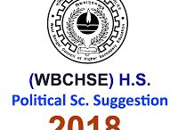 Political Science Suggestion for Higher Secondary 2018 প্রকাশিত হল SuggestionPedia থেকে।